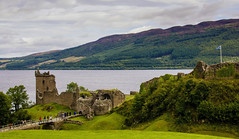 No Nessie to see, hi. Scotland. (ost_jean) Tags: scotland nikon d5200 350 mm f18 ostjean nessie castle urquhart