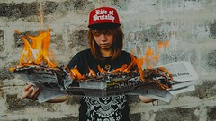 IMG_5913-2 (Niko Cezar) Tags: rise of brutality bag shirt clothing hypebeast modern notoriety aesthetic cinematic art photography canon portrait product shot fire cap