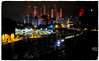 Night Train (Welsh Gold) Tags: ebury bridge night lights battersea power station london victoria