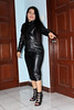 Behave Yourself (johnerly03) Tags: erly philippines filipina asian fashion long leather dress high heel boots hair shiny