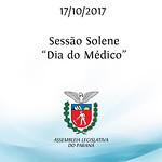 Sessão Solene alusiva ao Dia do Médico