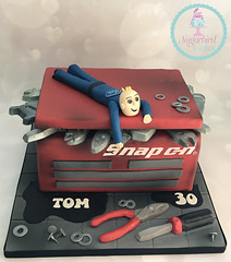 SnapOn Toolbox Cake