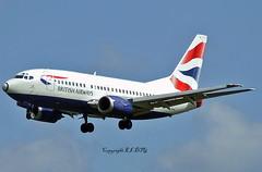 Boeing 737-505 G-GFFB British Airways (EI-DTG) Tags: aircraftspotting planespotting dublinairport dub eidw collinstown runway28 boeing boeing737 b737 babyboeing busstopjet ggffb britishairways