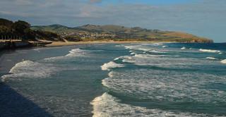 St Clair beach, Dunedin.