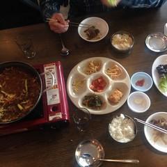 Korea - Lunch during DMZ trip 201 (The Subcultured Traveler) Tags: iphonepics korea seoul insadong namdemeun dmz hongdae heyri sinchon travel asia backpacker subculturedtraveler