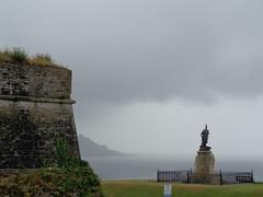 Rainy Plymouth (rachappleby) Tags: rain rainy plymouth lighthouse hoe smeatons tower eddystone devon cornwall