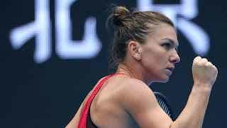 TENNIS GRAND SLAM : WTA PREMIER , PECHINO : SIMONA HALEP STRAPAZZA MARIA SHARAPOVA