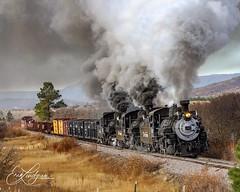 (Coloradorailphotographer) Tags: cumbresandtoltec newmexicotrains newmexico coloradotrains trains train steamtrains steamengine steamlocomotive railroad riogrande riogranderailroad