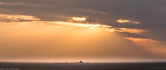 distant sun showers (andrew.walker28) Tags: sun sunshine rain showers landscape golden afternoon sunset darling downs