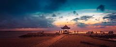 Sanur Beach Sunrise  [Explored September 26, 2017] (Iftakhar Hasan) Tags: indonesia bali denpasar sanur beach sunrise cloud sony sonyepz1650mmf3556oss sonyα6300 ocean