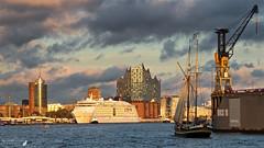 (#3.329) Hamburg (unicorn 81) Tags: 18200mm hamburg elbe hamburgcruisedays2017 germany portofhamburg cruiseship cruisedays 2017