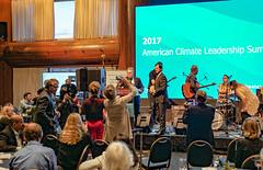 2017.10.29 Senator Al Franken, US Climate Leadership 2017, Washington, DC USA 0212