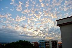 (AleColamonici) Tags: lookup clouds nuvole cielo paintedsky painted sky