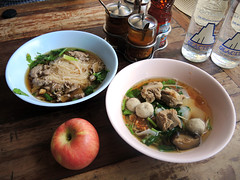 Thai Noodle soup (MelindaChan ^..^) Tags: 泰國 thailand chanmelmel mel melinda melindachan travel