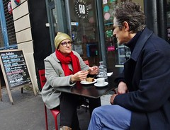 2017-11-01  Paris - FAB - 48 Rue du Faubourg Saint-Denis (P.K. - Paris) Tags: paris novembre 2017 people candid street café terrasse terrace