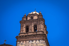 Beautiful architecture in Cusco.