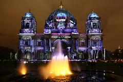 Fesival of Lights 6 (Pinky0173) Tags: berlinleuchtet festivaloflights berlin germany illumination dom pinky0173 thrunfotogrfiede canon night