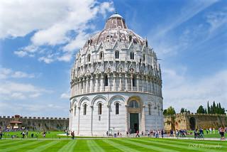 Baptistery of St. John, Piazza del Duomo, Pisa