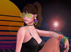 Revel in Your Time (ZexyQueen) Tags: secondlife sl slphotography retro 80s gunship