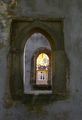 One, two; three (:Linda:) Tags: germany thuringia ruin town eisfeld cemetery window two open three