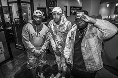 IMG_4146 (Brother Christopher) Tags: podcast podcasting lsn loudspeakersnetwork hiphop culture interview music combatjack gherbo lilherb lilbibby chicago chitown brotherchris explore explored bnw blackandwhite influence