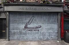 C'MERE HIPPIE --> Ya Right! (MalaneyStuff) Tags: atx116prodx tokinaaf1116mmf28 2017 dublin ireland haircut hippie d7100 nikon storefront barber 110160mmf28 tokina