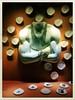 Jinni (Casey Hugelfink) Tags: munich münchen fünfhöfe juwelier jewellery jinni window windowshopping schaufenster beheaded kopflos muscles muskeln decoration flaschengeist meisterproper