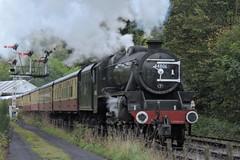 44806 (mike_j's photos) Tags: nymr steam gala september northyorkshiremoors railway black5 44806