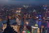 Pudong sunset (Mikey Down Under) Tags: china prc swfc shanghai bluelight eveningsunset girl jinmao lights mother night pearltower pigtails pudong shanghaiworldfinancialcentre skyline