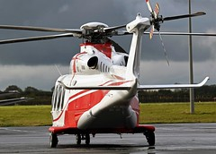 M-SHRM AGUSTAWESTLAND AW-139 NEWCASTLE (toowoomba surfer) Tags: helicopter aviation ncl egnt