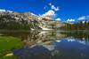 Elizabeth and the Unicorn (RobertCross1 (off and on)) Tags: a7rii alpha ca california emount elizabethlake fe1635mmf4zaoss ilce7rm2 sierranevada sierras sony unicornpeak yosemite yosemitenationalpark bluesky clouds forest fullframe lake landscape mirrorless mountains nature reflection trees water