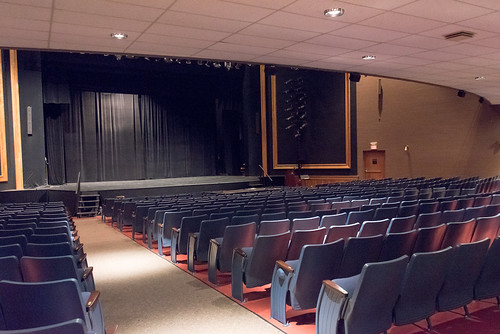 Schacht Fine Arts Center Theatre Renovations