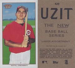 2002 / 2003 - Topps 206 Mini Baseball Card / Series 3 / Uzit - JOEY VOTTO / FYP (Rookie Card) #429 (First Base) (Cincinnati Reds) (Baseball Autographs Football Coins) Tags: 2002 topps 206 topps206 uzit mini card minicard baseballcard 2002topps206 polarbear series3 joeyvotto cincinnatireds firstbase fyp firstyearplayer rookiecard