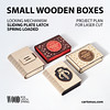 Box with sliding plate latch (cartonus) Tags: lasercut lasercutting engrave engravebox wedding story box woodenbox woodworking