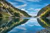 Lake Agnes in Fall (Margarita Genkova) Tags: lakeagnes albertacanada fall fallcolours reflections serenity beauty teahouse nature