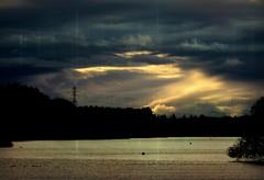 Last light over Forfar Loch (ronramstew) Tags: loch sky clouds forfar angus scotland light