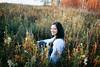 Veronika (mravcolev) Tags: autumn meadow grass cute smile portrait canoneos5dmarkii 5dmkii 5d2 35l 35mm canonef35mmf14lusm woman