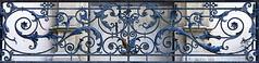 Balcony ironwork, Carrer de Casp, 44, Barcelona