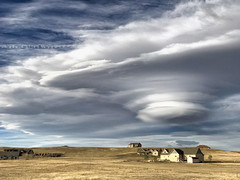UFO Close-up (northern_nights) Tags: lenticular clouds cheyenne wyoming cell iphone7plus