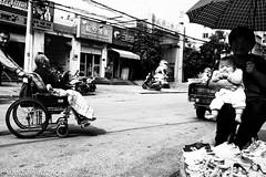 DSCF0660-Edit-2 (Mongie007) Tags: 221017nanyang fujix100t china henan nanyang wheelchair kid baby blackwhite