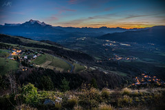 """""""Cool autumn evening"""" (luckyice38) Tags: automne autumn cool fraiche frais soirée alps french evening frenchalps alpes longexposure lights light night nuit sonyfe28mmf2 sony28mm sel28f20 second sonye28mm fe28mm fe28mmf2 28mm 28 ilce7 sonya7 sonyalpha sonyalpha7 alpha7 a7 fullframe ff hybride format pleinformat landscape paysage nature endofday endoftheday end day journée findejournée findelajournée fin theend cold"""