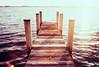Velvet Summer (thomas_anthony__) Tags: fuji velvia 100 velvia100 cross processed xpro slide film 35mm analog beach bay ocean water summer sky pastel light sun sea east coast horizon outdoor canon a1