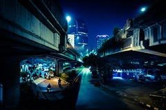 The space between... (Presence Inc) Tags: night rx1rm2 people abstract 35mm nightlife colour shadows photograph citylife filmmood layers architecture jakarta shape transport texture urban fullframe wideangle street rx1r city streetphotography angles architectural indonesia isolated light nightpeople lowlight decay contrast mood beautiful cinematic dark photography sony stilllife society mirrorless disturbia candid urbanscape