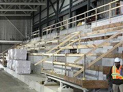 PCC Construction - Fall 2017 - Accipiter Arena Bleachers