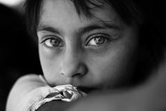 Kurdish future (Giulio Magnifico) Tags: streetphotography streetlife nikon iraq micro refugees portrait mosul da3sh future girl 105mm naturallight d800e kurdistan yazidi iraqturchia soul isis blackandwhite candid macro detail nikond800enikkor105mmmicrof28afs civilwar middleeast personality detailing soulful camp war gaze