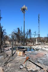 Poolside (Gunn Shots (Mark Gunn)) Tags: fire ruin northbayfires sonomanapafires apocalypse pool swimmingpool santarosa