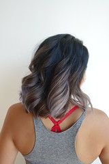 Balayage by Macy and cut by Haley