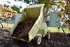DSC_0072-1 (ScootaCoota Photography) Tags: cars dump tow truck trucks outside play old abandoned forgotten child dirt sand garden nikon photo photography perth wa australia