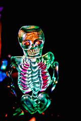 Skeleton (donjuanmon) Tags: donjuanmon nikon macro macromondays theme halloween hmm skeleton glow