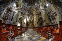 Cagliari .....e dintorni #8 (celestino2011) Tags: chiesadisanmicheleinstampace interno cagliari sardegna architettura